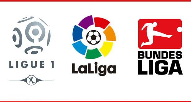 مباريات قوية نهاية الأسبوع في دوريات إسبانيا، فرنسا وألمانيا