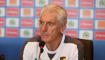 مدرب الكاميرون يتحدث عن مستوى المنتخب المغربي