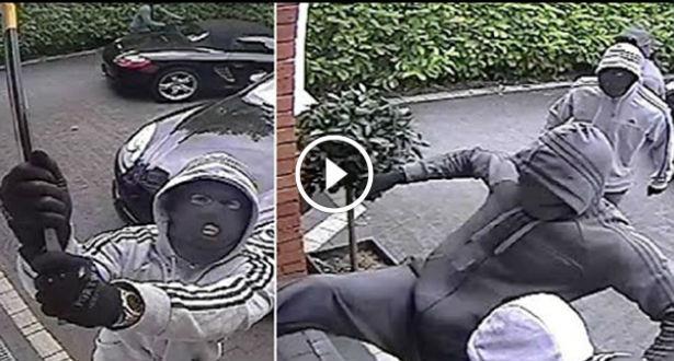 فيديو.. لصوص  يقتحمون منزلا في واضحة النهار
