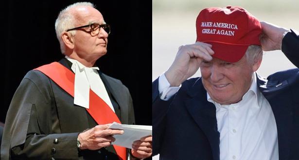 إيقاف قاض كندي عن العمل لارتدائه قبعة في المحكمة تحمل شعار ترمب