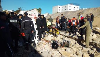 تفاصيل حادث انهيار سور خارجي لشركة متخصصة في أعلاف الدواجن بالبيضاء