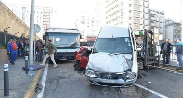 13 قتيلا و1468 جريحا في حوادث السير بالمناطق الحضرية خلال الأسبوع الماضي