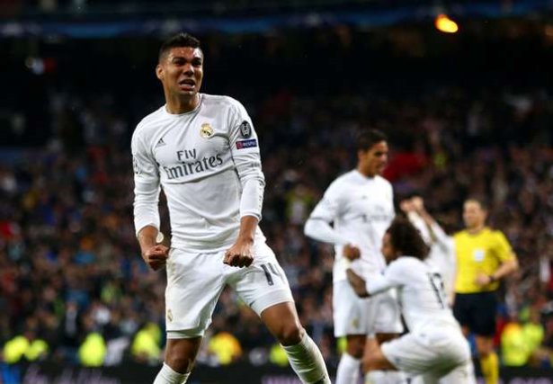 Real: Casemiro absent au moins trois semaines pour blessure