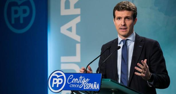 بابلو كاسادو خلفا لراخوي على رأس الحزب الشعبي الاسباني