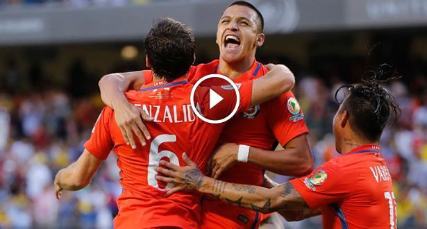 Copa America 2016: Le Chili bat la Colombie (2-0) et atteint la finale
