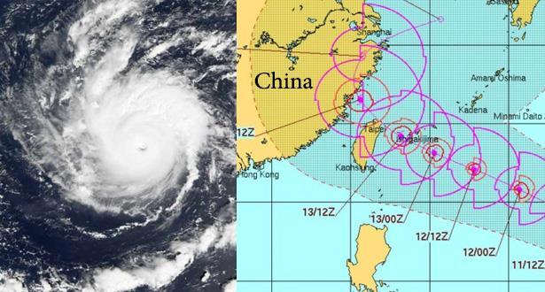"""الصين.. إجلاء أكثر من 200 ألف شخص مع اقتراب الإعصار """"تاليم"""""""