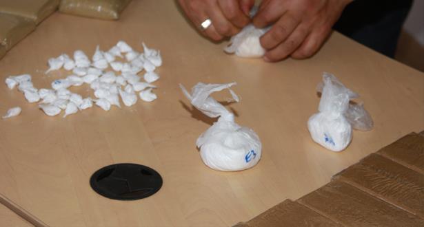 ضبط كمية من الكوكايين بحوزة أربعة أشخاص يشتبه في ارتباطهم بشبكة إجرامية