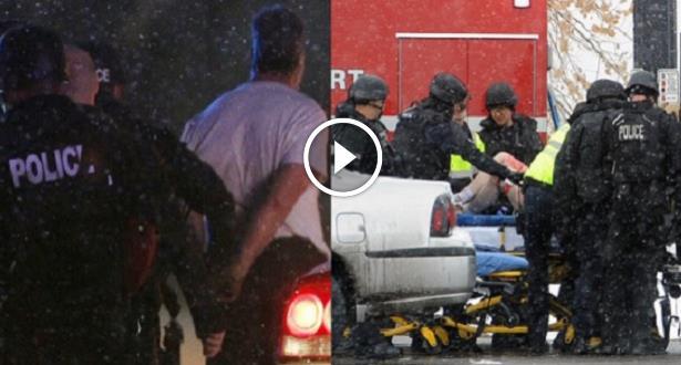 """فيديو وصور .. """"كولورادو"""" الأمريكية .. لحظة القبض على منفذ الهجوم على عيادة للإجهاض"""