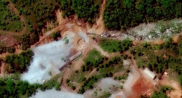 Pyongyang met hors service son site d'essais nucléaires avant un sommet avec les États-Unis