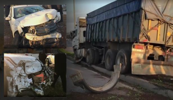 اصطدام شاحنة بعدد من المركبات يتسبب في عرقلة حركة السير على الطريق المداري الرباط-سلا