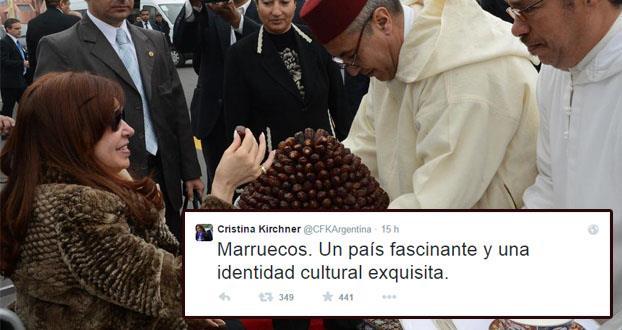 الرئيسة الأرجنتينية: المغرب بلد جذاب وذو هوية ثقافية رائعة