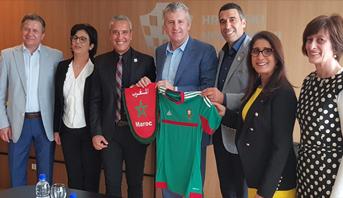 وفد مغربي يروج لملف مونديال 2026 في كرواتيا