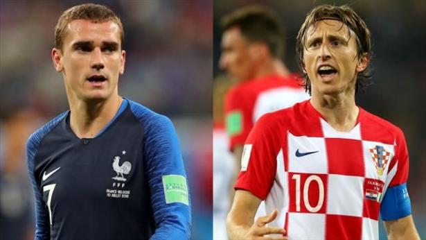 La finale du Mondial 2018 sera la sixième confrontation de l'histoire entre la France et la Croatie