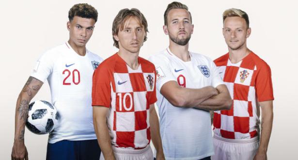 مونديال 2018 .. انجلترا وكرواتيا لقاء أحلام معلقة على أمجاد الماضي