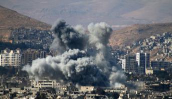 Énorme explosion près de l'aéroport de Damas, probablement due à un raid israélien