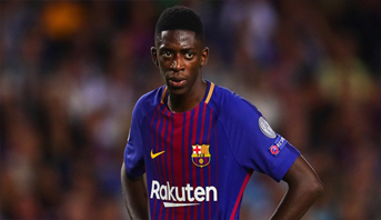 برشلونة يحسم الجدل حول حقيقة رحيل ديمبلي نهاية الموسم