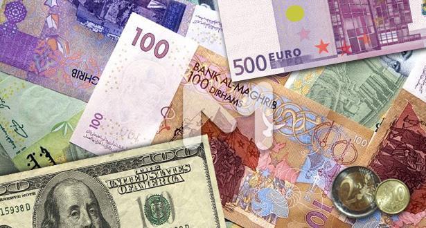 الدرهم شبه مستقر أمام الأورو والدولار