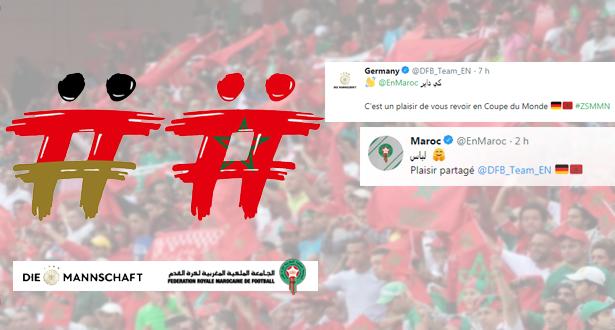 صفحة منتخب ألمانيا تنطق بالدارجة والمغاربة يردون