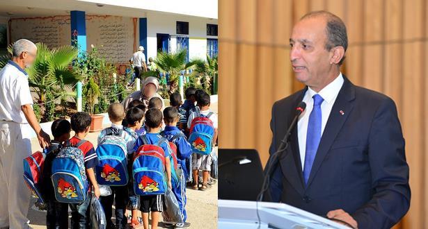 ابتداء من الدخول المدرسي المقبل .. استقبال التلاميذ البالغين 5 سنوات ونصف بالسنة الأولى ابتدائي للتعليم العمومي