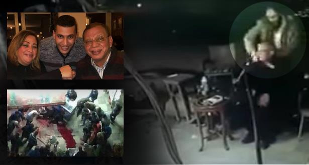 فيديو مروع لشخص يذبح قبطيا في الشارع العام يهز مصر