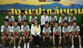 Thaïlande: les rescapés de la grotte témoignent