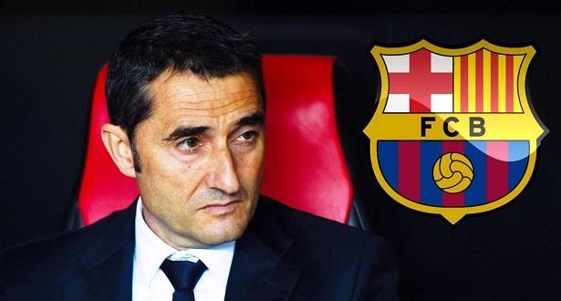 Valverde succède à Luis Enrique sur le banc du Barça