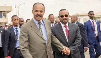 الرئيس الإريتري يبدأ زيارة تاريخية إلى إثيوبيا
