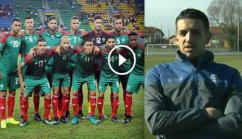 """فيديو.. زهير فضال: """"رغم تواجدي بإسبانيا إلا أن قلبي كان مع المنتخب المغربي"""""""