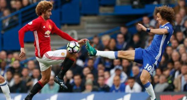 Vidéo: quand David Luiz agresse Marouane Fellaini