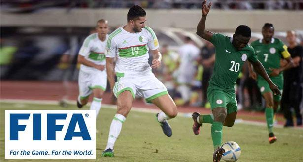 """""""الفيفا"""" يخصم ثلاث نقاط من نيجيريا في تصفيات المونديال ويضيفها للجزائر"""