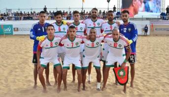 المنتخب الوطني لكرة القدم الشاطئية يفوز بالدوري الدولي لأكادير