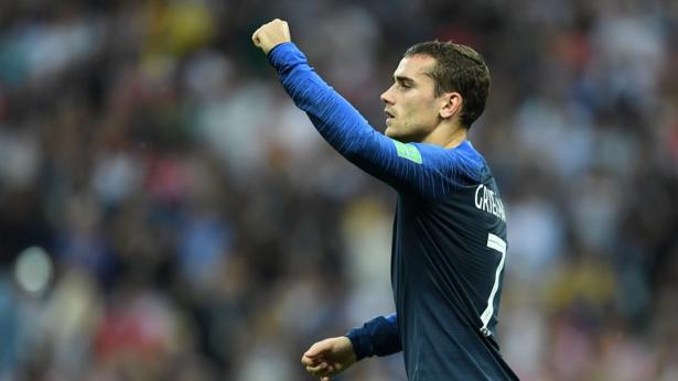 Mondial 2018: la France mène face à la Croatie à la mi-temps