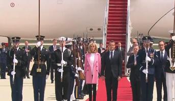 الرئيس الفرنسي يبدأ زيارة من ثلاثة أيام للولايات المتحدة