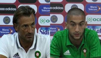 الندوة الصحفية لرونار ولاعبي المنتخب الوطني قبل مباراة مالي