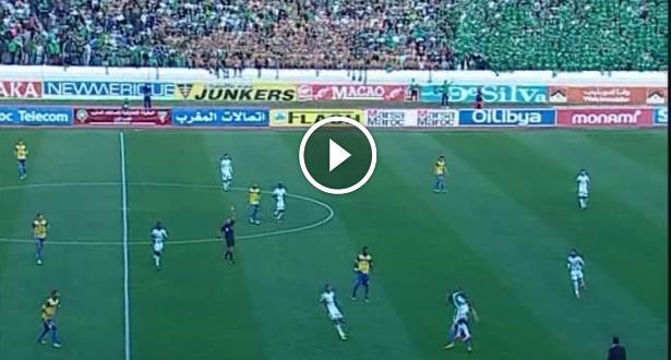فيديو .. هدفان رائعان ليوسوفا وباباتوندي في مباراة الرجاء والفتح