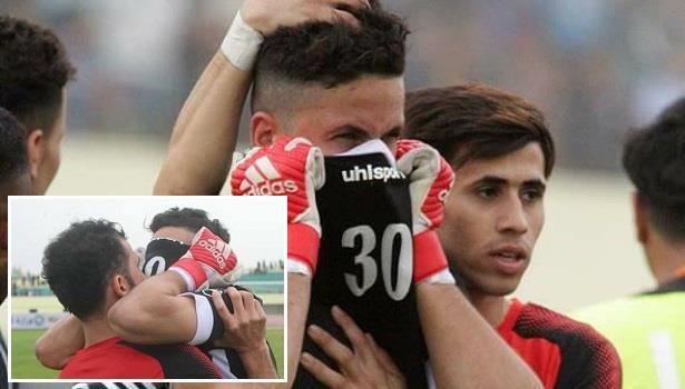 حارس مرمى عراقي يُخفي خبر وفاة ابنته لخوض مباراة مع فريقه
