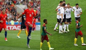 ألمانيا والتشيلي يعبران لدور نصف النهائي