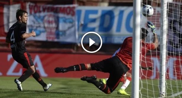 Chamiopnnat d'Argentine: un incroyable arrêt et un but d'anthologie lors du match des extrêmes