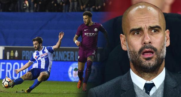 Coupe d'Angleterre (huitième de finale): Manchester City éliminé par Wigan