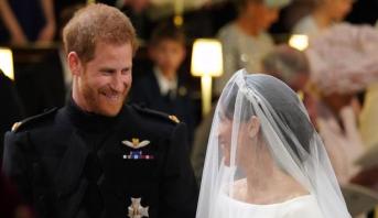 حضور غفير في مراسم حفل زفاف الأمير هاري وميجان ماركل