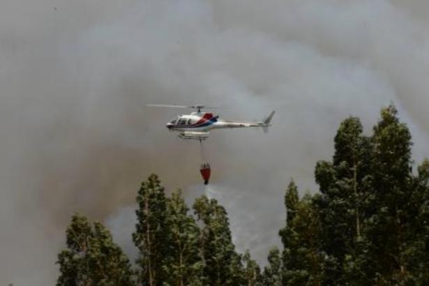 Incendies au Portugal: un hélicoptère s'écrase, le pilote probablement mort
