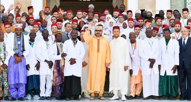 أمير المؤمنين يدشن مشروع توسعة معهد محمد السادس لتكوين الأئمة المرشدين والمرشدات