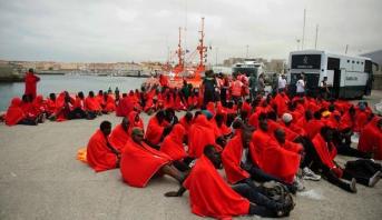 """مدريد """"قلقة ومنشغلة"""" بسبب وصول مئات المهاجرين غير الشرعيين إلى شواطئها انطلاقا من الجزائر"""