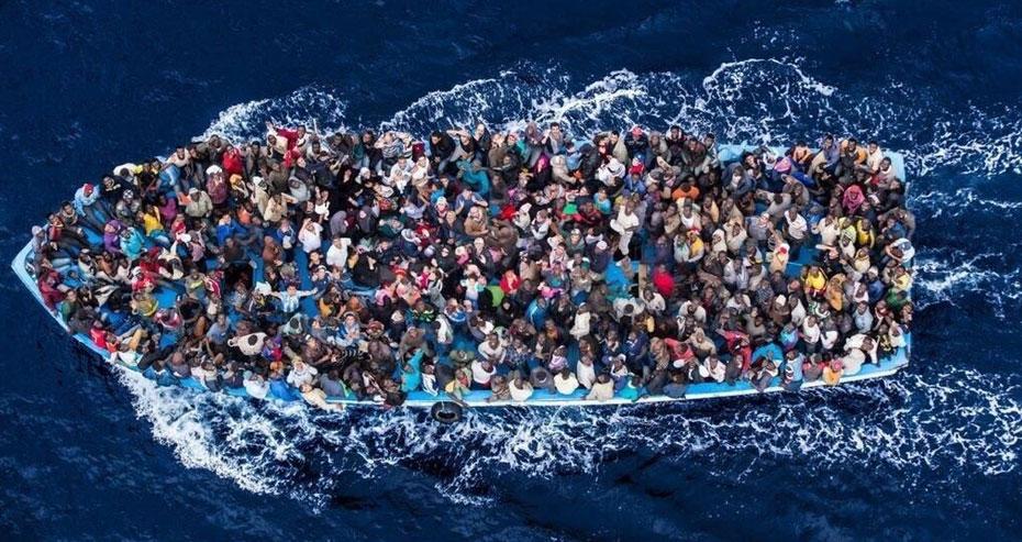 La Libye arrête 600 migrants qui voulaient rejoindre l'Europe
