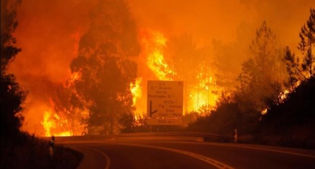 حرائق عنيفة جديدة في البرتغال التي تستعد لموجة حر جديدة