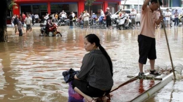 Pluies torrentielles meurtrières en Chine