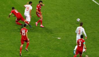 في مباراة مثيرة .. إسبانيا تفك رموز دفاع إيران وتشارك البرتغال الصدارة