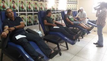 الزاكي وطاقم الاتحاد ينخرطون في مبادرة الفريق للتبرع بالدم