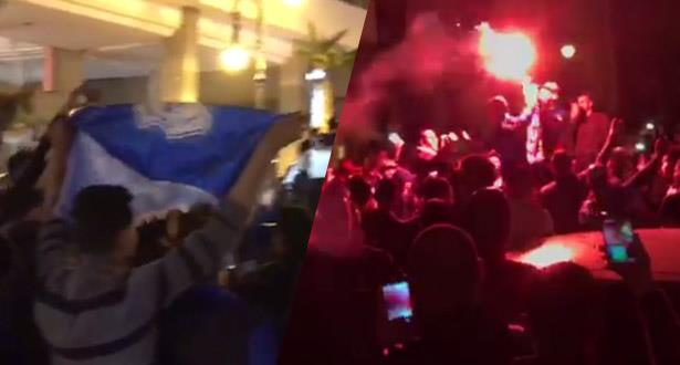 Scènes de liesse dans les rues de Tanger après le sacre de l'IRT