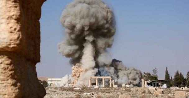 Daech a détruit une partie du plus important temple de Palmyre